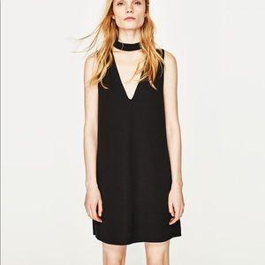 Zara choker dress